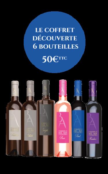Coffret sélection - 6 bouteilles
